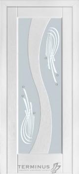 Модель-15 ПО Ясень белый эмаль, сатин, матированное светлое, №15