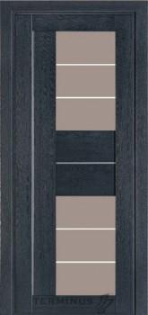 Модель-172 ПО Дуб Antracit Grey, стекло сатин  темный