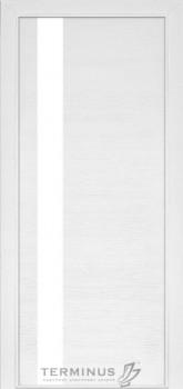 Модель-021 ПГ Ясень белый эмаль, планилак белый
