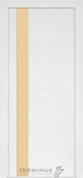 Модель-021 ПГ Ясень белый эмаль, планилак молочный