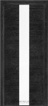 Модель-023 ПГ Дуб Nero, планилак белый