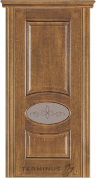 Модель-55 ПО Даймонд, остекленная (02) стекло сатин бронза №13