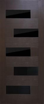 Домино ПВХ стекло Черное